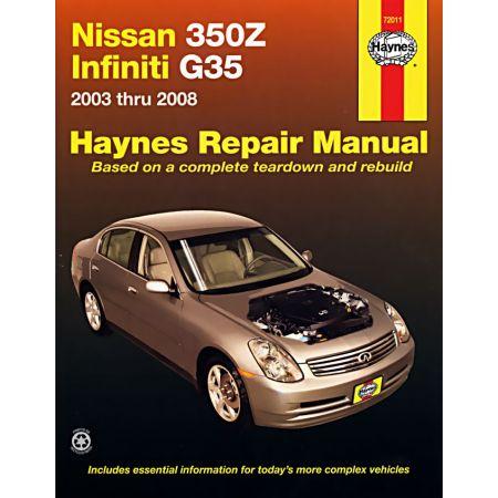 350Z - G35 03-08 Revue Technique Haynes NISSAN INFINITI Anglais