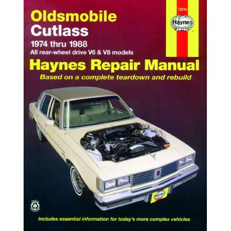 Cutlass Supreme 74-88 Revue Technique Haynes OLDSMOBILE Anglais