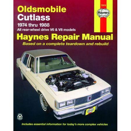 Cutlass Supreme 74-88 Revue Technique Haynes OLDSMOBILE Anglais