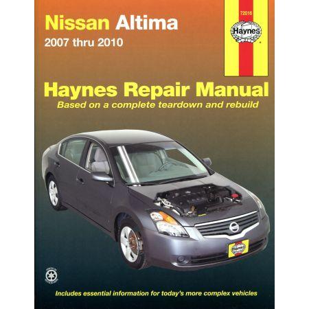 Altima 07 -12 Revue Technique Haynes NISSAN Anglais