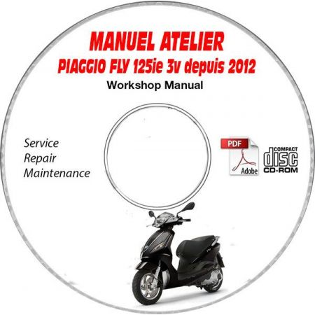 FLY 125ie 3V 12- Manuel Utilisateur CDROM PIAGGIO FR