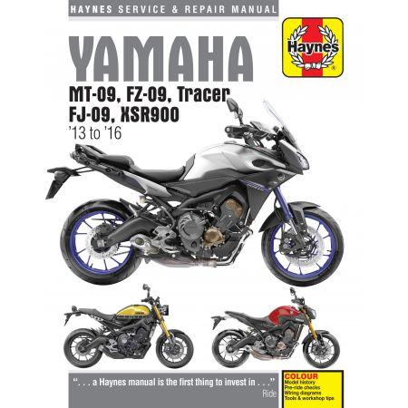 Yamaha MT-09 Tracer Revue technique Haynes Anglais
