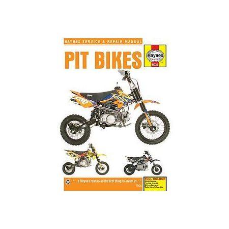 Pit Bikes Manual Revue technique Haynes Anglais