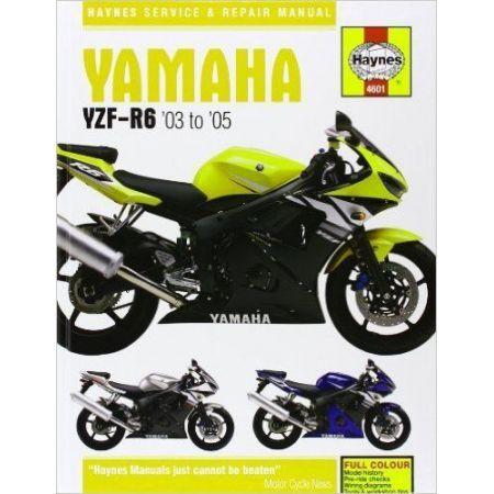 YZF-R6 03-05 Revue technique Haynes YAMAHA Anglais