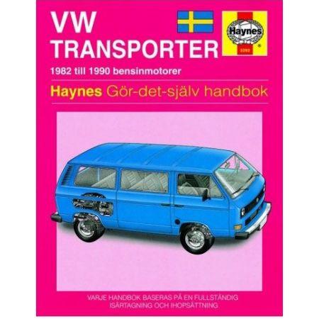 Transporter 82-90 Revue technique Haynes VW Volkswagen Suédois