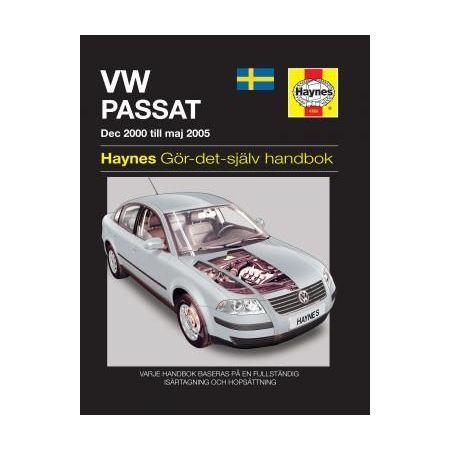 Passat dec 00-Maj 05 Revue technique Haynes VW VOLKSWAGEN Suédois