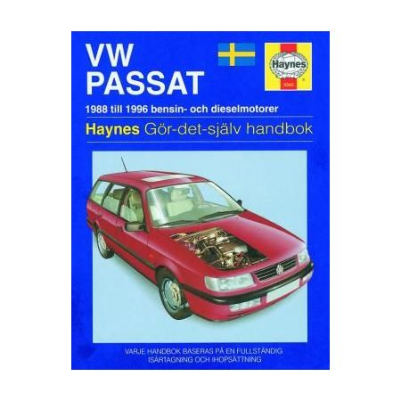 Passat 88-96 Revue technique Haynes VW VOLKSWAGEN Suédois