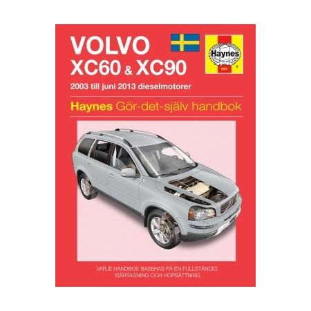 Volvo XC60 XC90 03-12 Swedish Revue technique Haynes