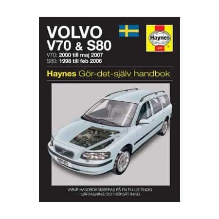 Volvo V70 S80 98-07 Swedish Revue technique Haynes