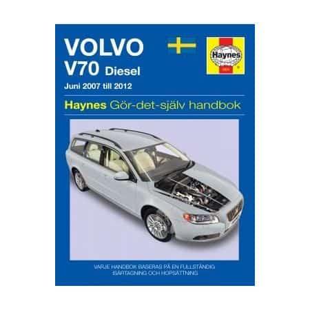 Volvo V70 diesel 07-12 Swedish Revue technique Haynes