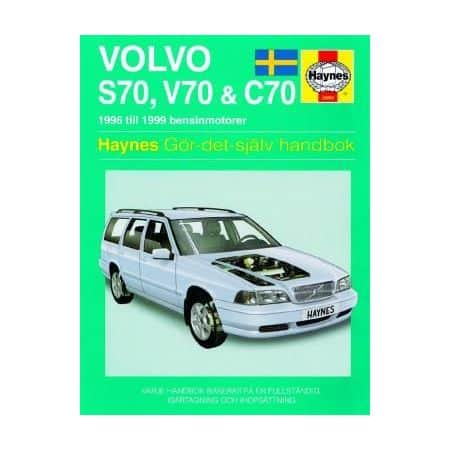 Volvo S70 V70 C70 96-99 Swedish Revue technique Haynes