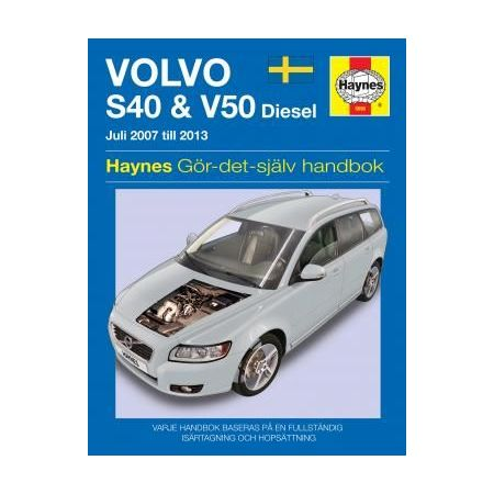 Volvo S40 V50 07-11 Swedish Revue technique Haynes