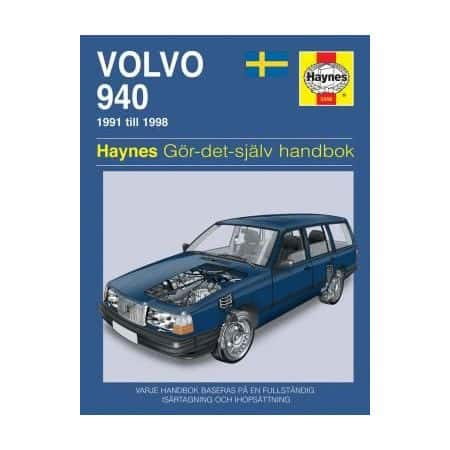 Volvo 940 91-98 Swedish Revue technique Haynes