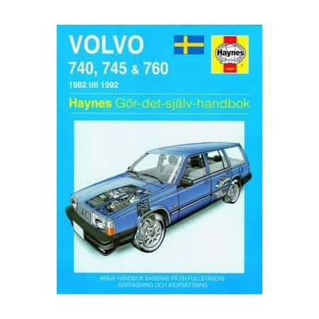 Volvo 740 745 760 82-92 Swedish Revue technique Haynes