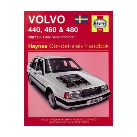 Volvo 440 460 480 87-97 Swedish Revue technique Haynes
