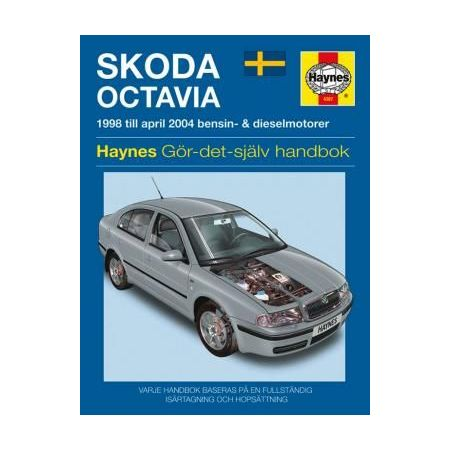 Skoda Octavia 98-04 Swedish Revue technique Haynes
