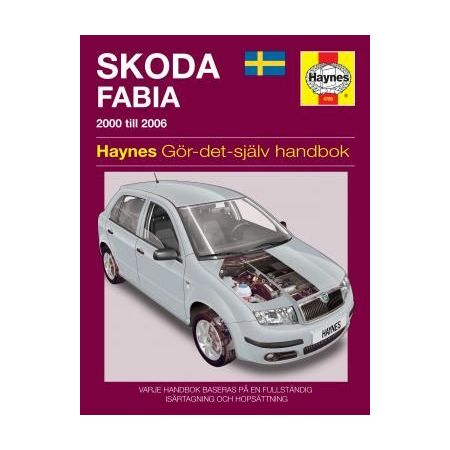 Skoda Fabia 00-06 Swedish Revue technique Haynes