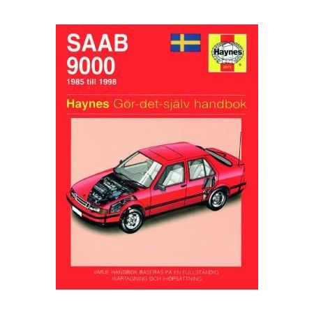Saab 9000 85-98 Swedish Revue technique Haynes