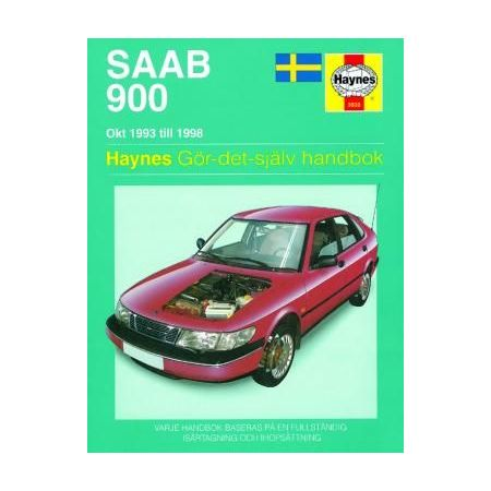 Saab 900 Okt 93-98 Swedish Revue technique Haynes