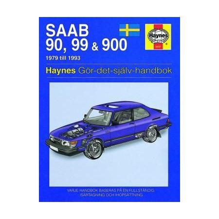 Saab 90 99 900 79-93 Swedish Revue technique Haynes