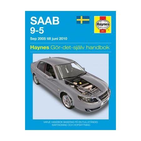 Saab 9-5 05-10 Swedish Revue technique Haynes