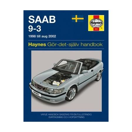 Saab 9-3 98-02 Swedish Revue technique Haynes