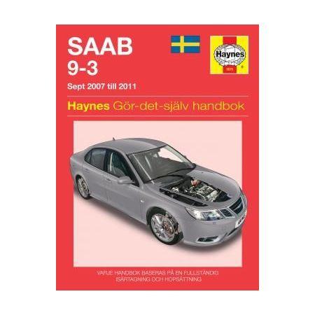 Saab 9-3 07-11 Swedish Revue technique Haynes