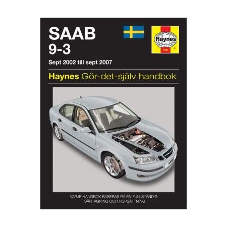Saab 9-3 02-07 Swedish Revue technique Haynes