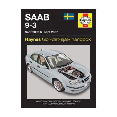 Saab 9-3 02-07 Swedish Revue technique Haynes