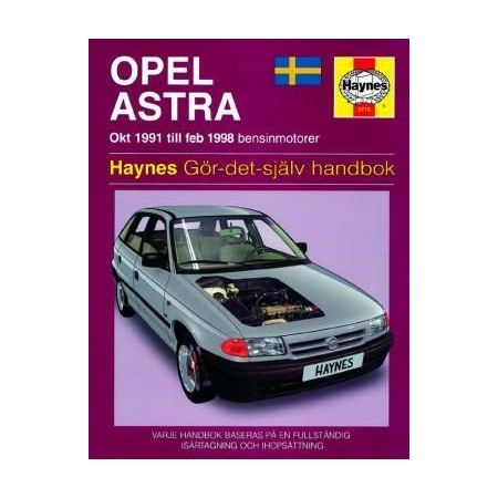 Opel Astra 91-98 Swedish Revue technique Haynes