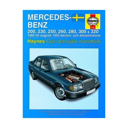 Mercedes-Benz 124-serien 85-93 Swedish Revue technique Haynes