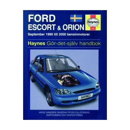 Ford Escort Orion 90-00 Swedish Revue technique Haynes