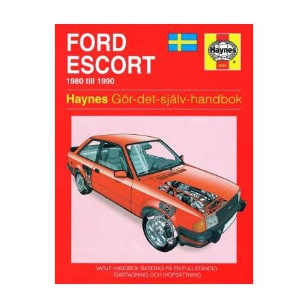 Ford Escort 80-90 Swedish Revue technique Haynes