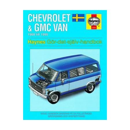 Chevrolet GMC Van 1968-95 Swedish Revue technique Haynes