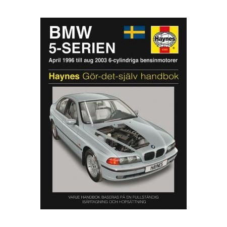 BMW 5-Serien 96-03 svenske utgayva Swedish Revue technique Haynes