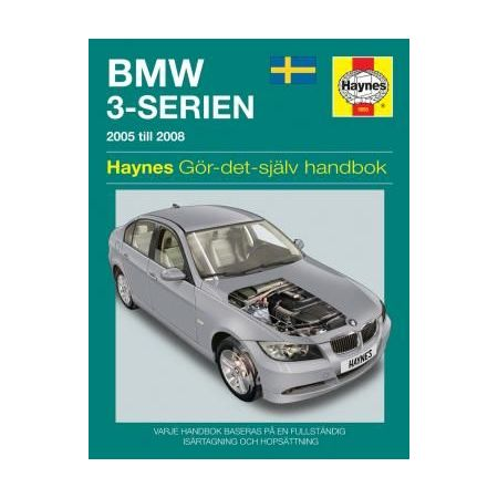 BMW 3-Serien 05-08 Swedish Revue technique Haynes