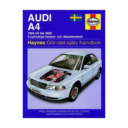 Audi A4 95-Feb 00 Swedish Revue technique Haynes