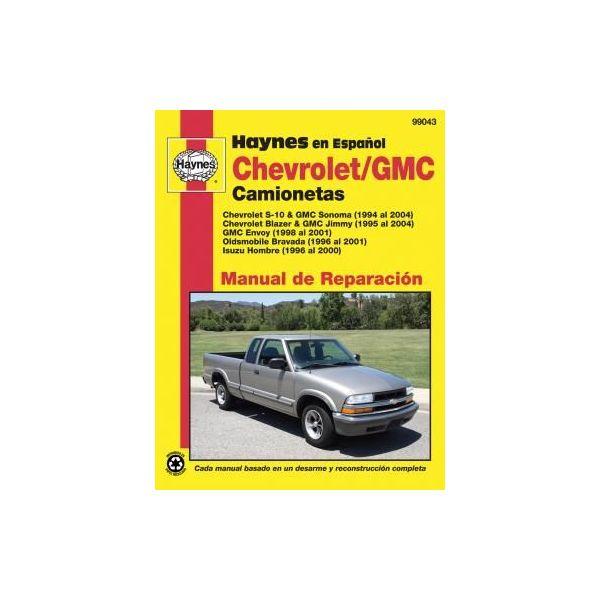 Camionetas  94-04 Revue Technique Haynes CHEVROLET GMC Espagnol