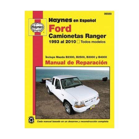 Ranger ET B2300 B2500 B3000 Revue Technique Haynes FORD MAZDA Espagnol