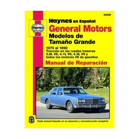 Full-size Models 70-90 Revue technique Haynes GENERAL MOTORS Espagnol