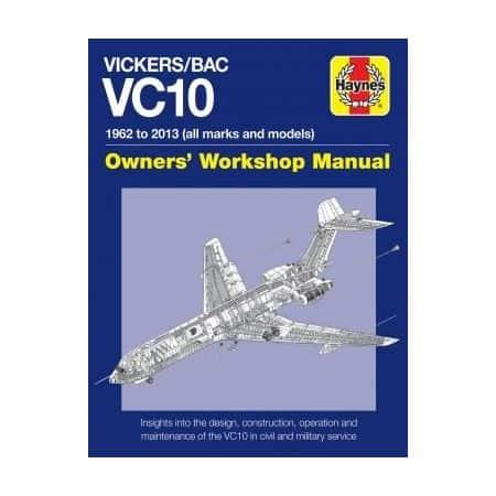 Vickers BAC VC10 Manual Revue technique Haynes Anglais