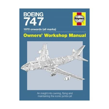 BOEING 747 MANUAL PAPERBACK Revue technique Haynes Anglais