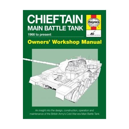 CHIEFTAIN TANK MANUAL Revue technique Haynes Anglais