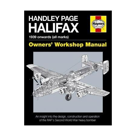 Handley Page Halifax Manual Revue technique Haynes Anglais