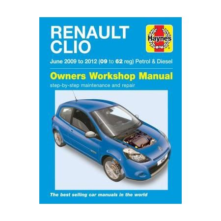 Renault Clio May 09-12 Revue technique Haynes Anglais
