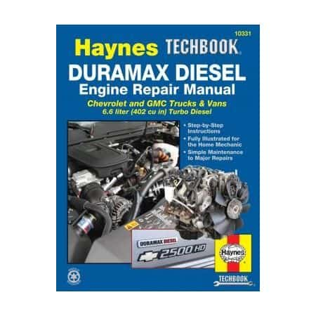 Duramax Diesel Engine Techbook for Chevrolet and GMC Trucks and Vans for 01 thru 12 Revue technique Haynes Anglais