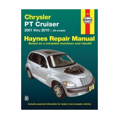 Chrysler PT Cruiser Repair Manual for all models 01 thru 10 Revue technique Haynes Anglais