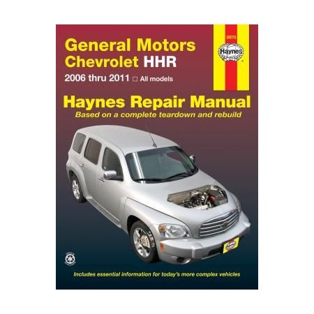 Chevrolet HHR Repair Manual for 06 thru 11 Revue technique Haynes Anglais