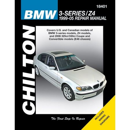 BMW 3 Series Z4 Chilton Repair Manual covering 99-05 Does not include the 318ti 323is 328is Z3 or information