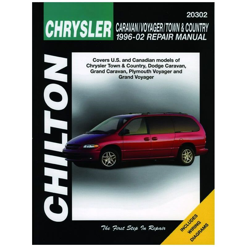 Caravan Voyager Revue Technique Chilton Chrysler Anglais on 96 Dodge Caravan Repair Manual